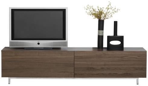MODELO 1B  - MUEBLE MODULAR -  HOME THEATER: Salas / recibidores de estilo minimalista por 3 DECO