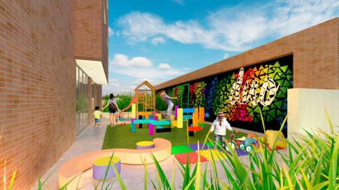 Terraza infantil:  de estilo  por HMA Desarrolladores De Proyectos