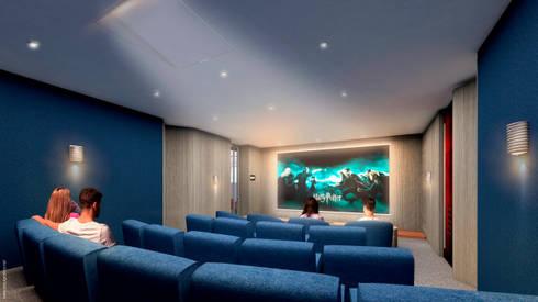 Teatrino:  de estilo  por HMA Desarrolladores De Proyectos