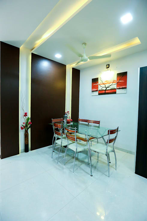 Dining Area: modern Dining room by ZEAL Arch Designs