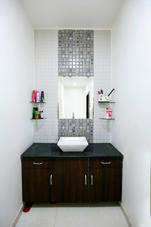 Common Wash Basin: modern Bathroom by ZEAL Arch Designs