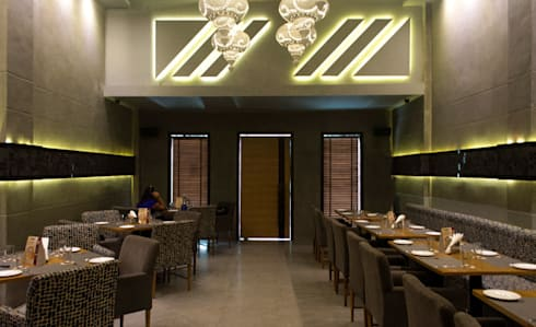 Admission Lounge: asian Dining room by StudioEzube
