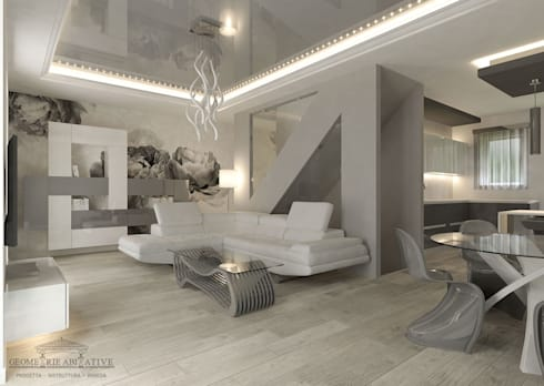 Arredo design progettazione di interni e ristrutturazione for Idee arredo soggiorno moderno