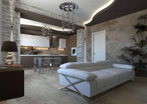 Arredare casa piccola moderna di geometrie abitative homify - Arredare casa moderna piccola ...