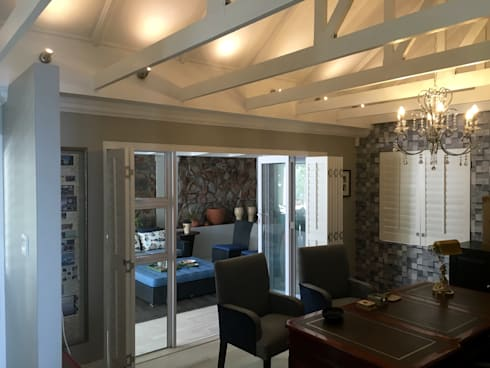 De Kelders Residence Hermanus Western Cape: modern Study/office by CS DESIGN