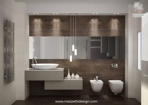 Progetto di un bagno di mezzettidesign homify - Idee per lavabo bagno ...