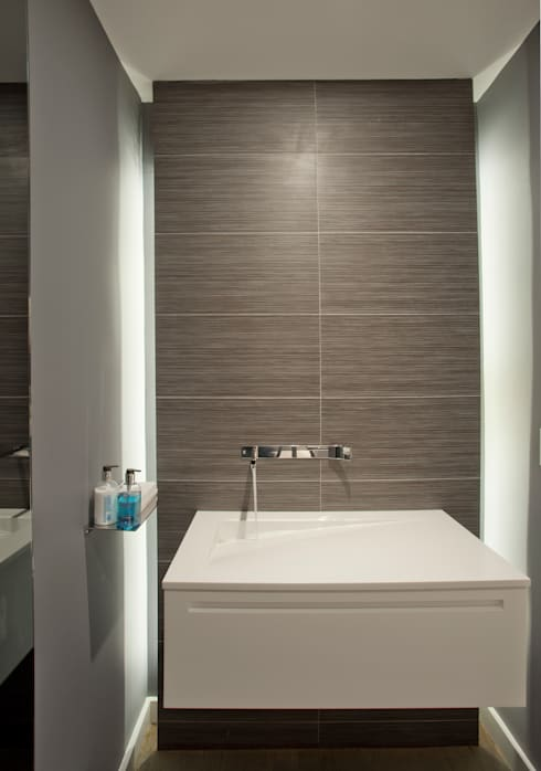 Georgetown Bathroom Lighting  : modern Bathroom by Hinson Design Group