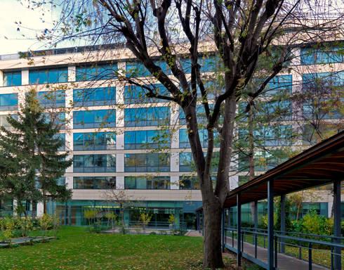 Parigi les vallois complesso residenziale e commerciale for Piano di progettazione di edifici commerciali