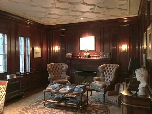 Kalorama Study Lighting : classic Study/office by Hinson Design Group