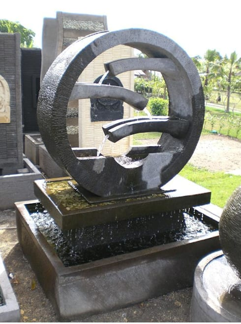 Jardín de estilo  por Ale debali study