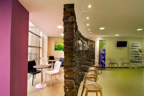 Doterra : Estudios y oficinas de estilo moderno por DIN Interiorismo