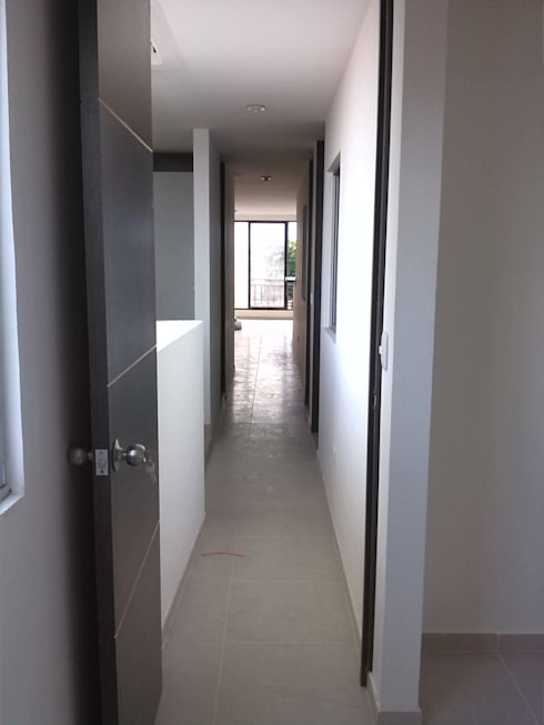 Projekty,  Domowe biuro i gabinet zaprojektowane przez EcoDESING S.A.S DISEÑO DE ESPACIOS CON INGENIO