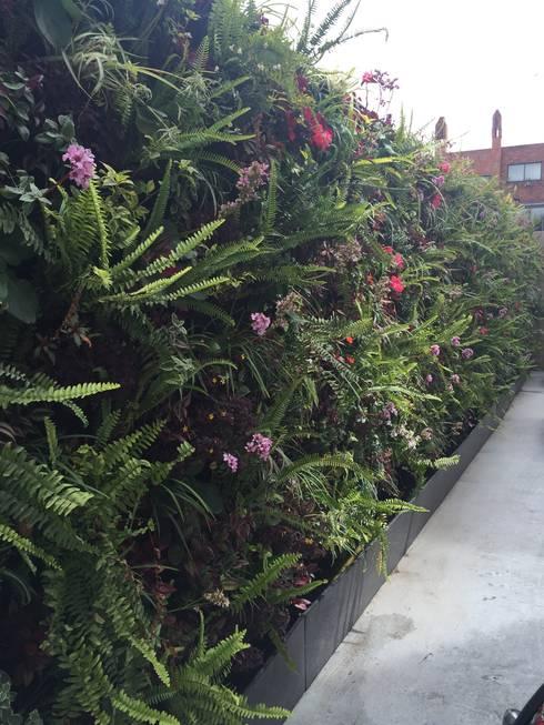 Jardines de estilo moderno por ESPACIO PENSADO S.A.S