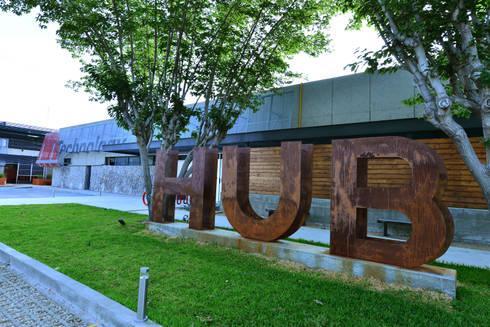 T HUB:  de estilo  por HADVD Arquitectos