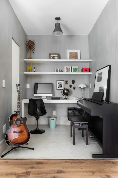 Рабочие кабинеты в . Автор – Alma em Design