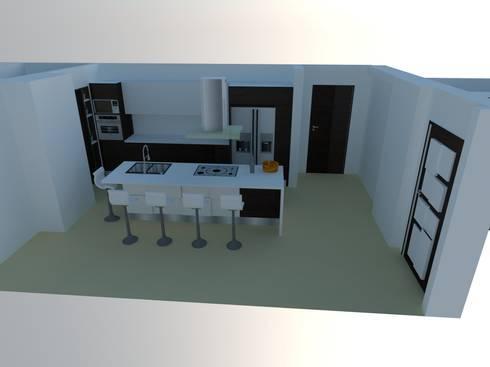 Diseño de Cocinas 3D de Arte Madera Y Estilo | homify