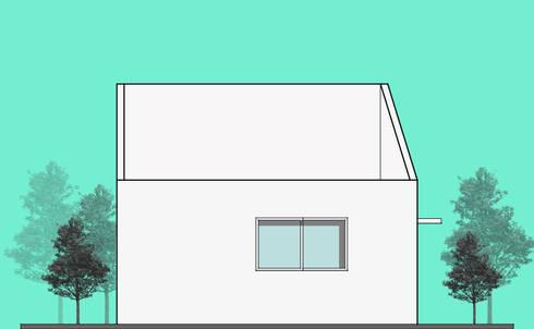 Casa Durango:  de estilo  por 21 Arquitectura