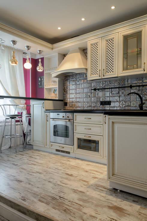 Kitchen by MARIA MELNICOVA студия SIERRA