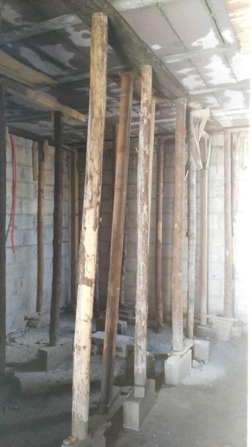 PROYECTO  NUEVO <q>TULIPANES </q>, PACHUCA HIDALGO: Casas de estilo moderno por ARQGC GRUPO CONSTRUCTOR