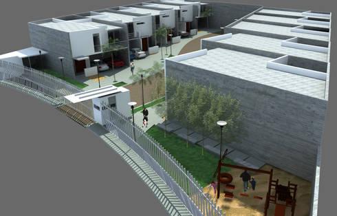 Departamentos en Ciudad Juarez:  de estilo  por Atelier X