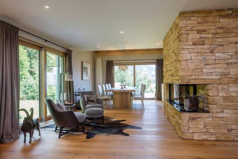 chalet in den schweizer alpen von baur wohnfaszination gmbh homify. Black Bedroom Furniture Sets. Home Design Ideas
