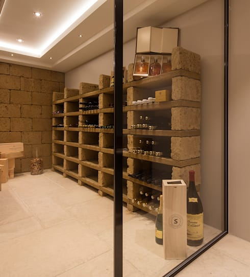 modern Wine cellar by BAUR WohnFaszination GmbH