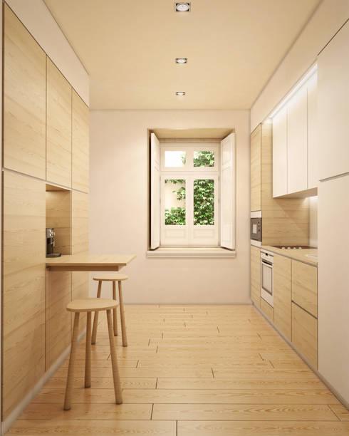 Imagem da cozinha: Cozinhas modernas por Pedro Serrazina Studio