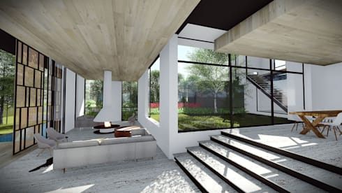 Courtyard House:   by Two Five Five Architects
