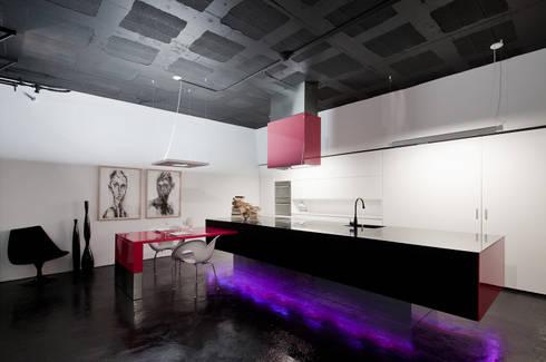 O futuro é agora: Cozinhas modernas por FABRI