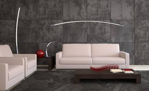 Modern Living Room By Ekotechnik24 Pl