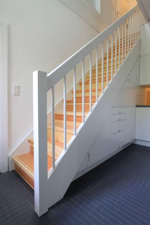 stairs:  Corridor & hallway by brandt+simon architekten