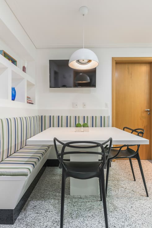Copa : Cozinhas clássicas por Sandra Pompermayer Arquitetura e Interiores