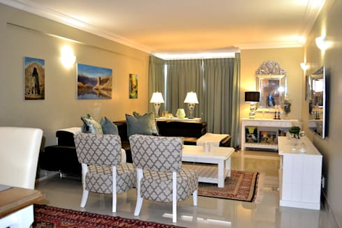 Living Room After :   by Oscar Designs