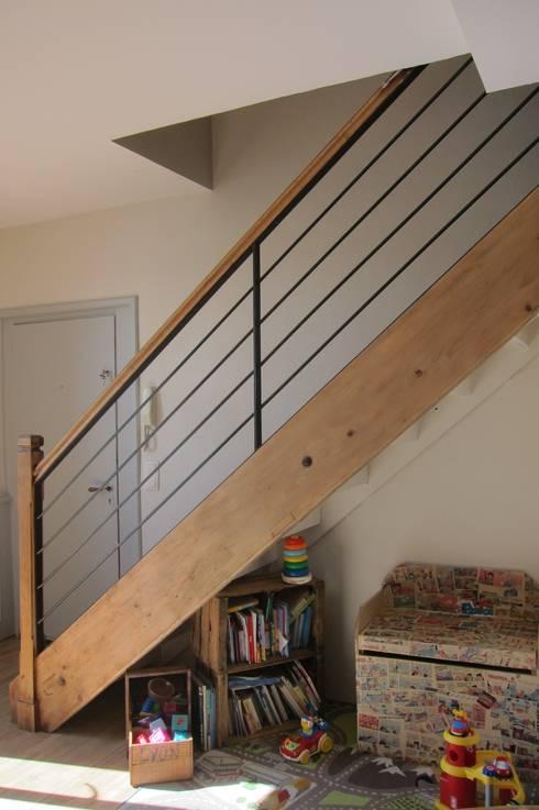verri re et rampe d 39 escalier de ox idee homify. Black Bedroom Furniture Sets. Home Design Ideas