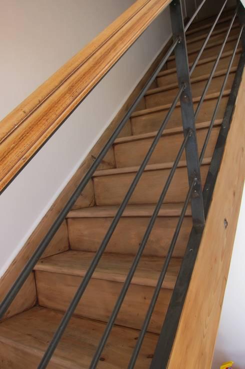 verrière et rampe d\'escalier von ox-idee | homify