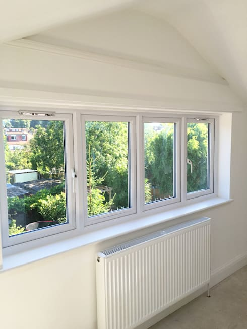 Loft Window View - As Built:   by Arc 3 Architects & Chartered Surveyors
