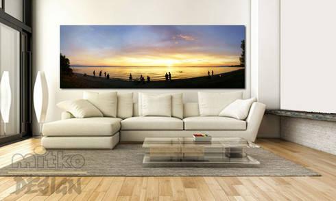 5. glasbilder im wohnzimmer von mitko design | homify, Wohnzimmer