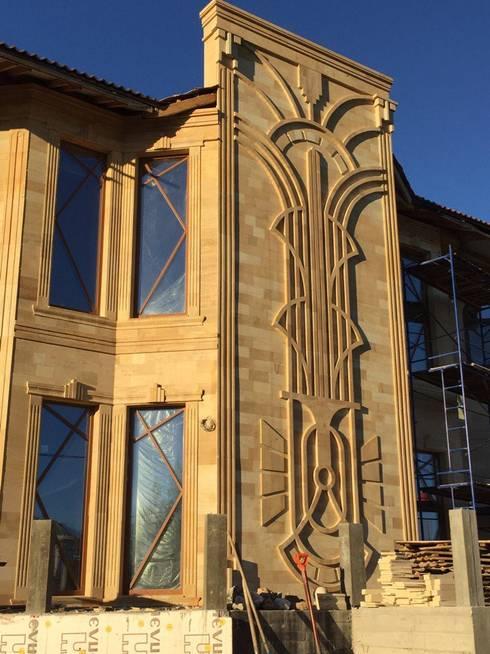Свежий взгляд на классический Ар Деко: Дома в . Автор – Геометрия Вкуса