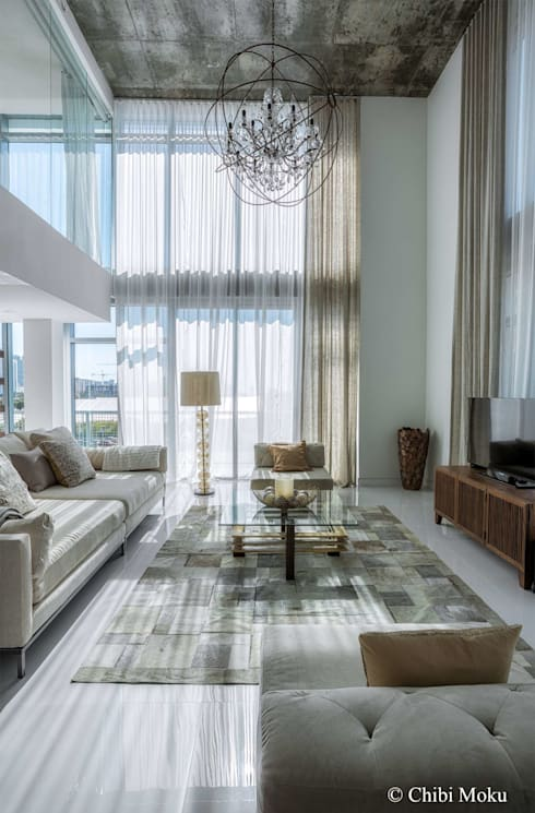 Salas / recibidores de estilo  por Chibi Moku