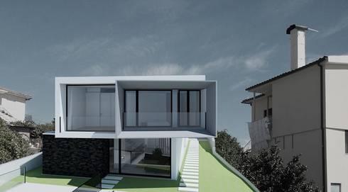 Moradia Britelo:   por Engebasto - Atividades de Engenharia e Arquitetura, Lda