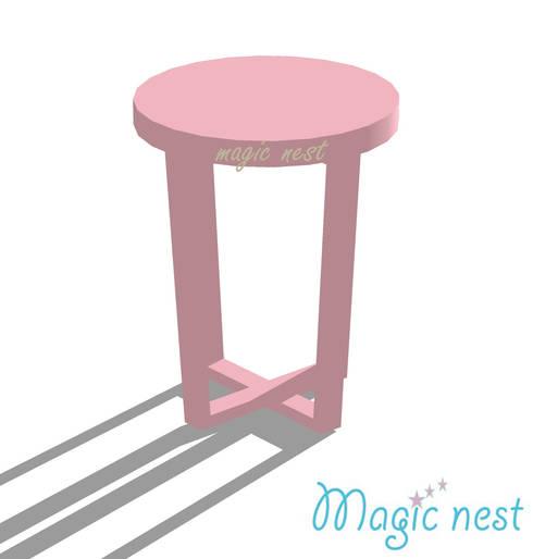 Macarron: Quarto de crianças  por Magic Nest