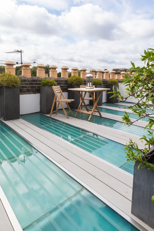 Kensington, SW5 - Renovation:  Terrace by TOTUS