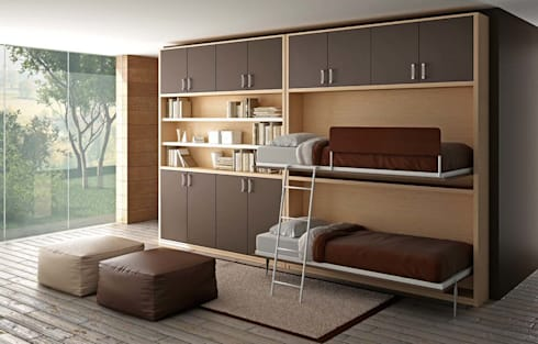Letto letti a scomparsa soluzioni trasformabili e mobili salvaspazio clei molteni di - Mobili letto salvaspazio ...
