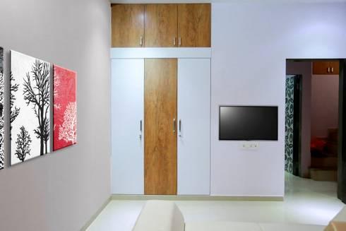 Wardrobe: modern Bedroom by ZEAL Arch Designs