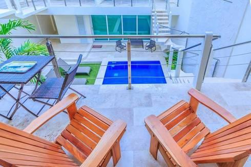 Balconies, verandas & terraces  by Natureflow®