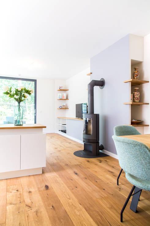 Interieur ontwerp en uitwerking nieuwe woning door woon for Interieur ontwerp