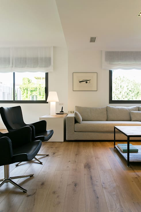 Living room by dom arquitectura