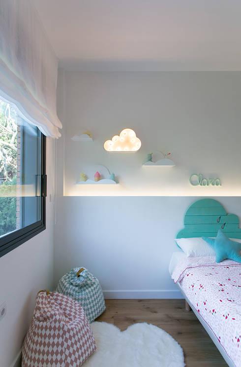 minimalistische Kinderkamer door dom arquitectura