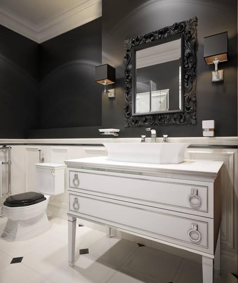 """Загородный таунхаус """"Мои териоки"""": Ванные комнаты в . Автор – Архитектура Интерьера"""