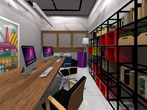 Edificios de Oficinas de estilo  por Arquiteto Lucas Lincoln